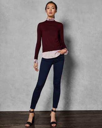 Ted Baker KAARINA Pleated neck collar sweater