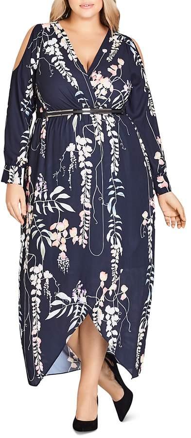Plus Hothouse Vine Maxi Dress