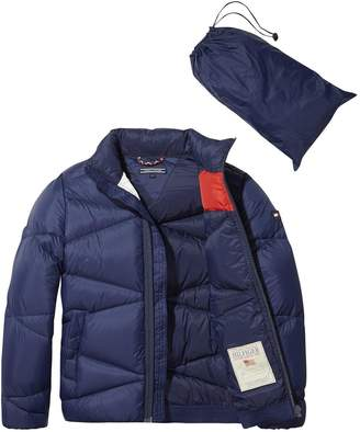 2f13fee3 Tommy Hilfiger Boys Packable Down Jacket - Navy