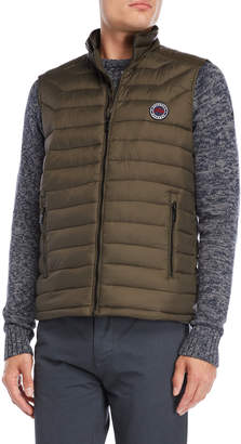 Fresh Brand Quilted Down Puffer Vest
