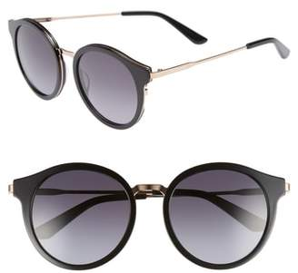 Juicy Couture 52mm Round Sunglasses
