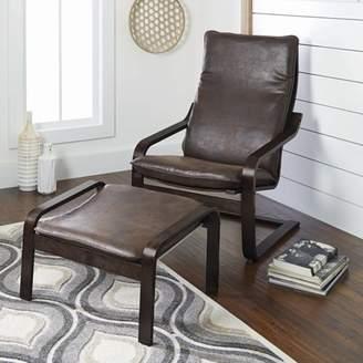 Better Homes & Gardens Sloane Bentwood Chair & Ottoman Set