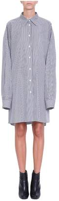 Maison Margiela Oversized Striped Cotton Shirt