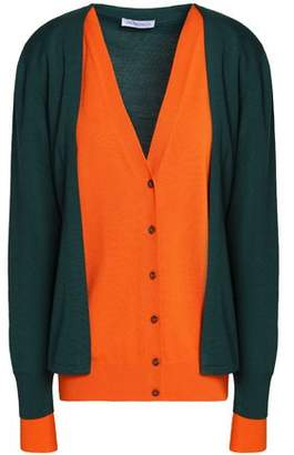 J.W.Anderson Color-Block Merino Wool Cardigan