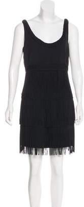 Temperley London Sleeveless Fringe Dress