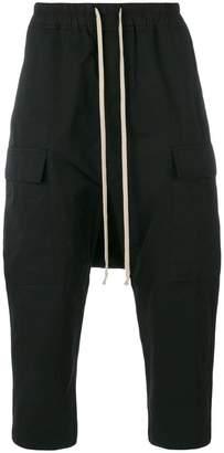 Rick Owens drop crotch cargo pants
