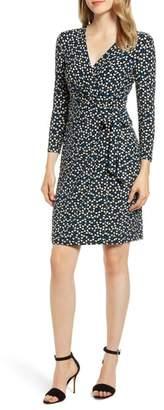 Anne Klein Flapper Faux Wrap Dress