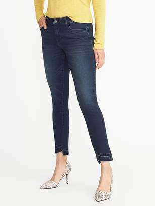 Old Navy Mid-Rise Step-Hem Rockstar Jeans for Women