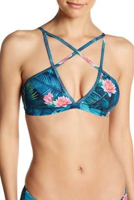 Reef Wild Heart Strappy Bikini Top