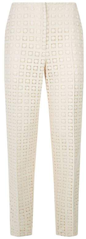 Florin Wool Guipure Trousers