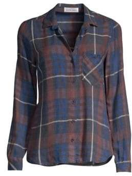 Bella Dahl Plaid Button Down Shirt