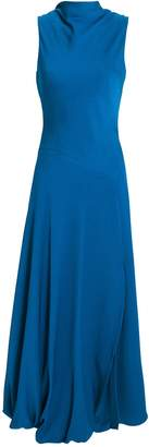 3.1 Phillip Lim Bubble-Hem Blue Dress