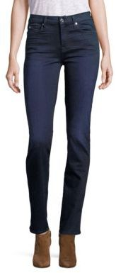 7 For All Mankind b(air) Kimmie Straight-Leg Jeans $179 thestylecure.com