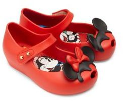 Mini Melissa Baby's, Toddler's and Kid's Disney Twins II Mary Jane Flats $65 thestylecure.com