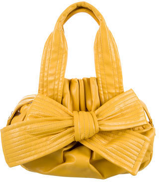 Vivienne WestwoodVivienne Westwood Leather Bow-Accented Bag