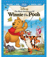 Disney The Many Adventures Of Winnie The Pooh 2-Disc Combo Pack