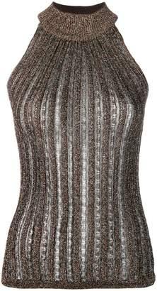 Missoni knitted glitter top