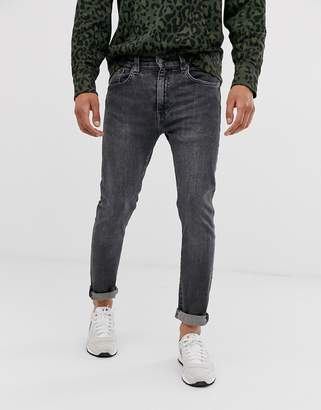 Levi's 519 super skinny fit low rise jeans in albany advance mid wash