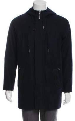 Alexander Wang Hooded Wool Coat