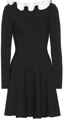 Valentino Long-sleeved knit dress