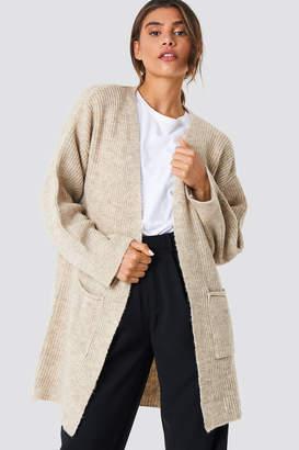 NA-KD Na Kd Front Pocket Knitted Cardigan