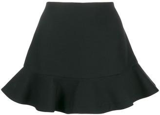 Valentino peplum hem short shorts