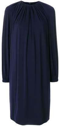 Calvin Klein ruched shift dress