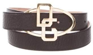 Dolce & Gabbana Skinny Logo Belt