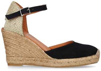 Kurt Geiger London Suede Monty Espadrille Wedges