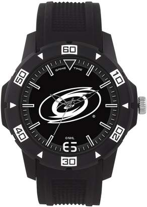 Game Time Men's 'AUTOMATIC' Quartz Plastic Casual Watch, Color: (Model: NHL-AUT-CAR)