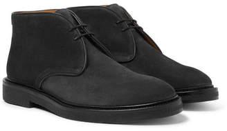 Mr P. - Lucien Suede Desert Boots - Black