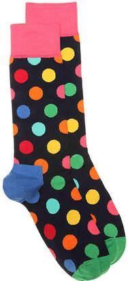 Happy Socks Big Dot Crew Socks - Men's