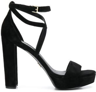 Michael Kors Charlize block heel sandals
