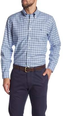Brooks Brothers Check Print Regent Fit Oxford Shirt