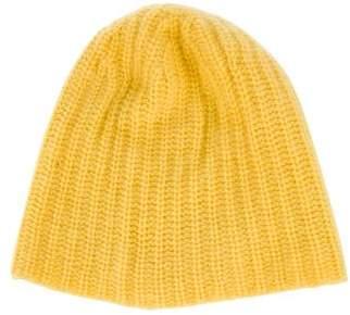 Magaschoni Cashmere Knit Beanie