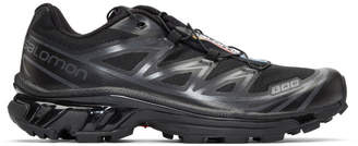 Salomon Black S/Lab XT-6 Softground ADV LTD Sneakers
