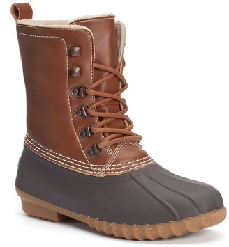 Unionbay Groovy Women's Duck Boots $79.99 thestylecure.com