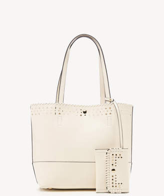 Sole Society Women's Ivah Mini Tote Vegan Leather Camel From