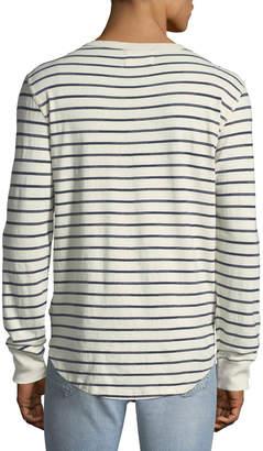 Sol Angeles Men's Vintage-Stripe Henley T-Shirt