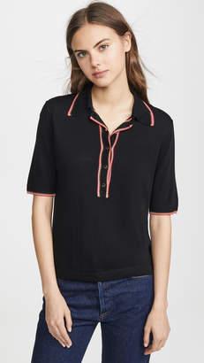Scotch & Soda Short Sleeve Polo Sweater