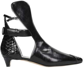 Givenchy Cut-out Ankle Boots