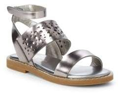 Yosi Samra Little Girl's & Girl's Miss Arianna Ankle-Strap Sandals