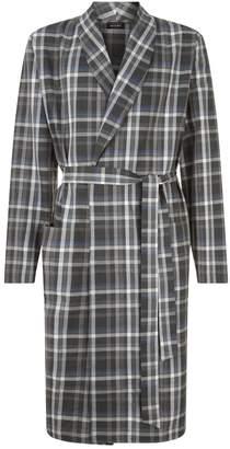 Hanro Check Robe