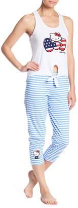 Hello Kitty American Bow Pajama Set