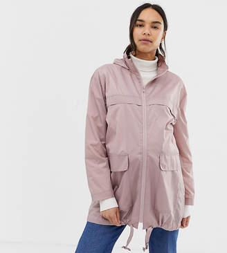 Asos DESIGN maternity pac a mac jacket