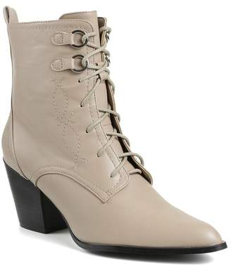Catherine Malandrino Irma Lace-Up Mid Boot