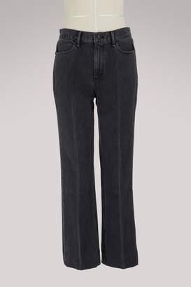 Rag & Bone Dylan high-waisted straight jeans