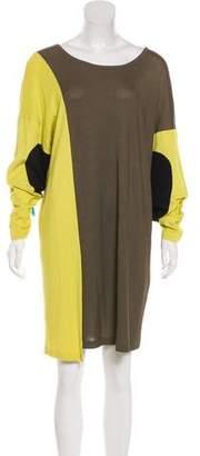Missoni Colorblock Knee-Length Dress