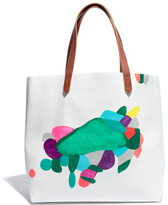 Madewell Rebeca raney x hand-painted tote