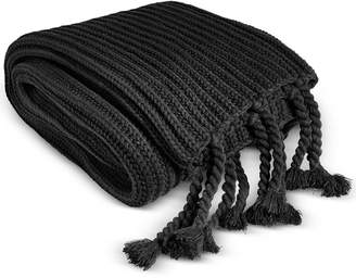 Charter Club Last Act! Damask Designs Tassel Throw, Created for Macy's Bedding